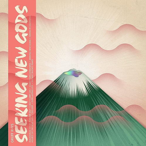 Gruff Rhys - Seeking New Gods Dark Green Vinyl LP Released 21/05/21
