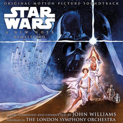 John Williams - Star Wars: A New Hope - Original Soundtrack LP Released 02/10/20