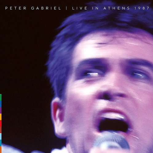 Peter Gabriel - Live In Athens 1987 LP Released 16/10/20