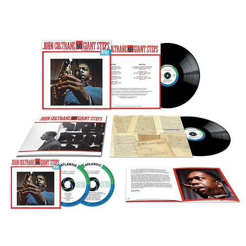John Coltrane - Giant Steps - 60th Anniversary Edition CD Released 18/09/20