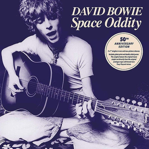 """David Bowie - Space Oddity 50th Anniversary 7"""" Box Set Released 12/07/19"""