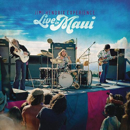Jimi Hendrix - Live In Maui LP + Blu-Ray Released 11/12/20
