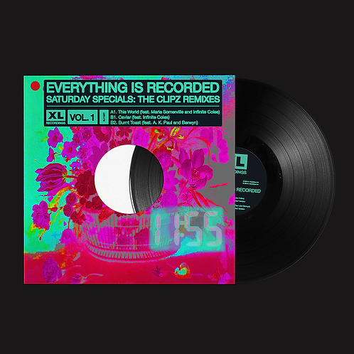 """Everything Is Recorded & Clipz - Saturday Specials: The Clipz Remixes Vol.1 12"""""""