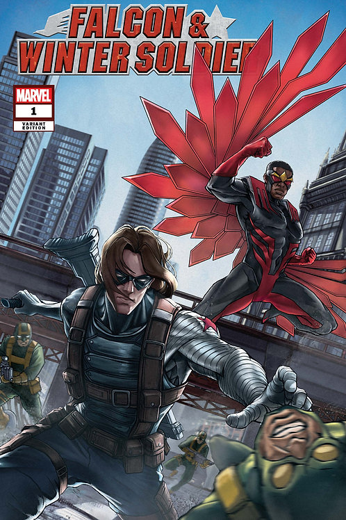 Falcon and Winter Soldier #1 [Butch Guice Variant Cover]
