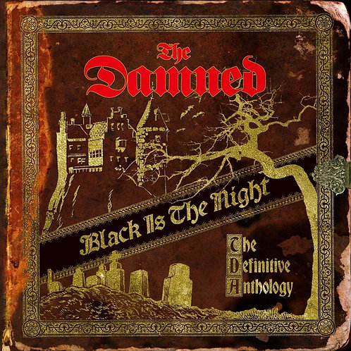 The Damned - Black Is The Night: The Definitive Anthology CD Released 01/11/19
