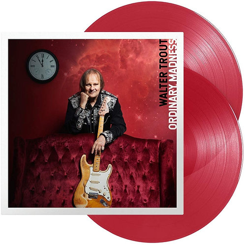 Walter Trout  - Ordinary Madness LP Released 28/08/20