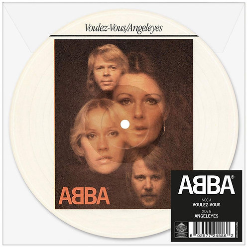 """ABBA Voulez-Vous (Picture Disc) 7"""" Released 14/06/19"""