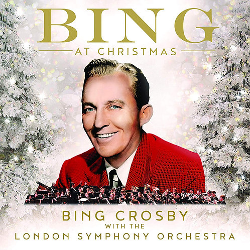 Bing Crosby With The London Symphony Orchestra - Bing At Christmas LP 22/11/19