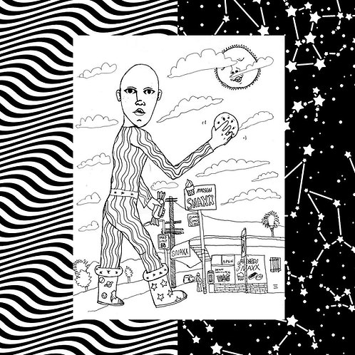 MNDSGN - Snaxx LP Released 14/06/19