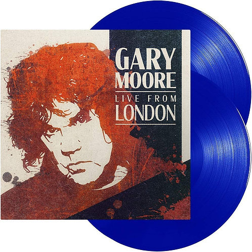 Gary Moore - Live In London LP Released 31/01/20