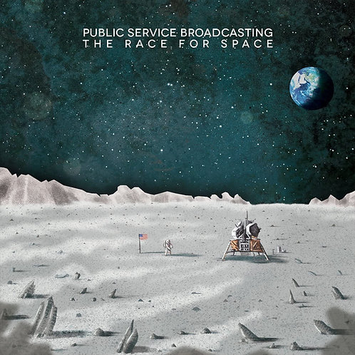 Public Service Broadcasting - The Race For Space LP