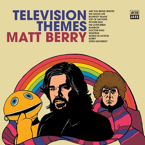 Matt Berry - Television Themes LP #LRS