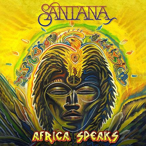 Santana - Africa Speaks LP Released 07/06/19