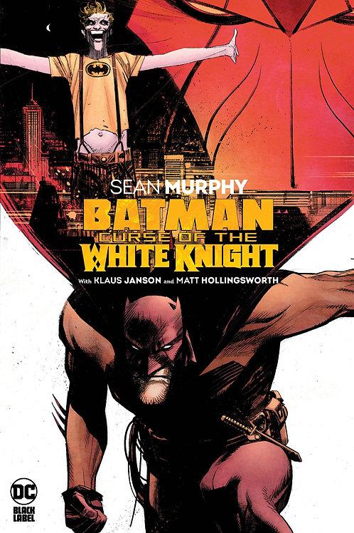 BATMAN CURSE OF THE WHYTW KNIGHT HC.
