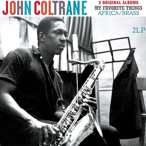 John Coltrane - 2 Original Albums: My Favourite Thing & Africa / Brass LP