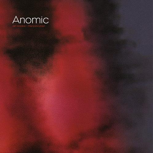 Jah Wobble & Marconi Union - Anomic - Red/Black Swirl Vinyl LP