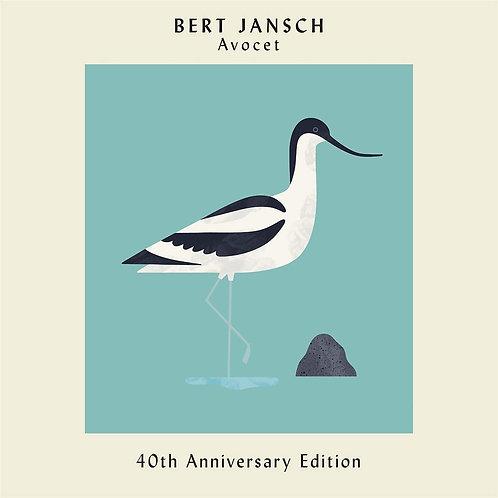 Bert Jansch - Avocet - 40th Anniversary Edition CD Released 10/01/20