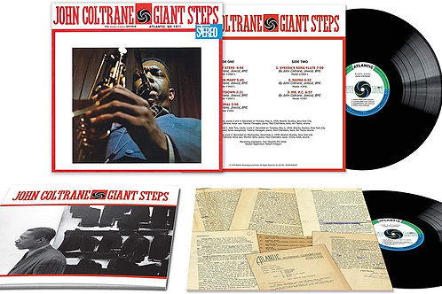 John Coltrane - Giant Steps - 60th Anniversary Edition LP Released 18/09/20