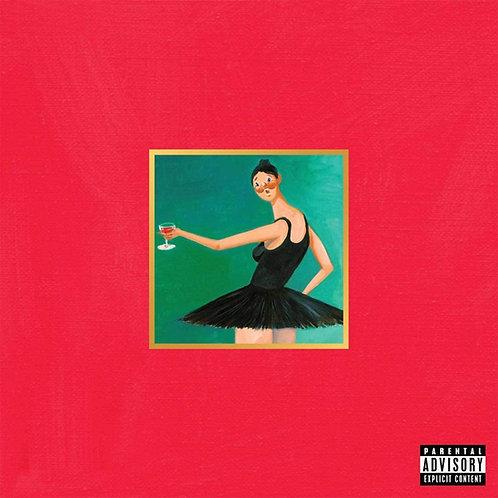 Kanye West - My Beautiful Dark Twisted Fantasy LP Released 20/11/20