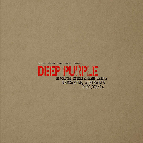 Deep Purple - Live In Newcastle, Australia 2001 LP Released 05/07/19