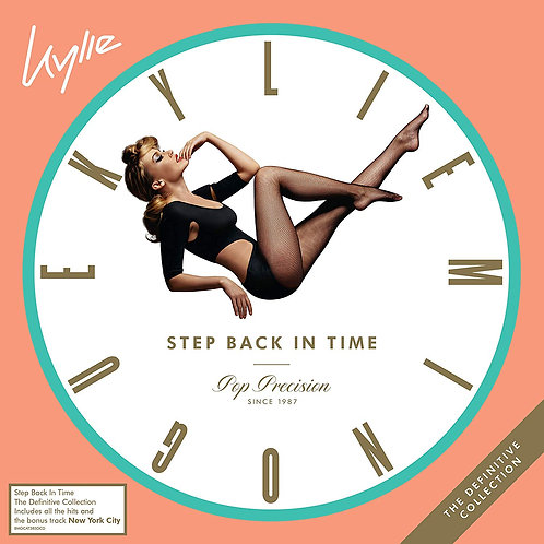 Kylie Minogue - Step Back In Time The Definitive Collection CD Released 28/06/19