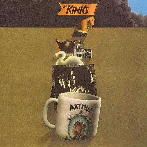 The Kinks - Arthur Or The Decline And Fall Of The British Empire LP 25/10/19