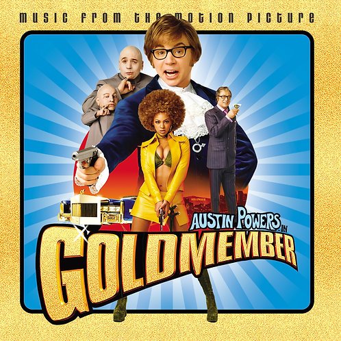Austin Powers In Goldmember Soundtrack LP