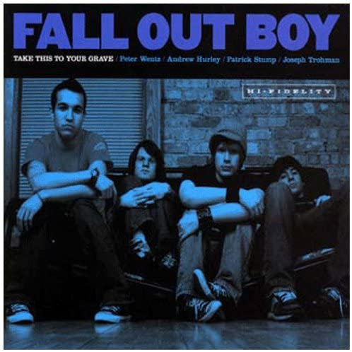 Fall Out Boy - Take This To Your Grave - Silver Vinyl LP Released 30/04/21