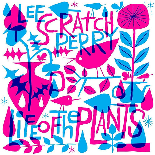 """Lee Scratch Perry - Life Of The Plants 12"""" Released 25/10/19"""