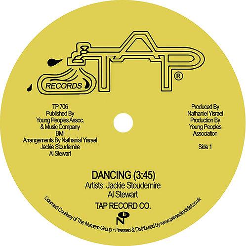 """Jackie Studermire With Al Stewart - Dancing 12"""" Single"""