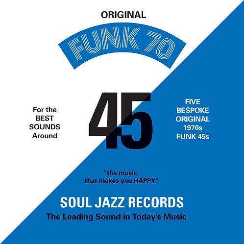"Soul Jazz Records Presents Funk 70 7"" Box Set"
