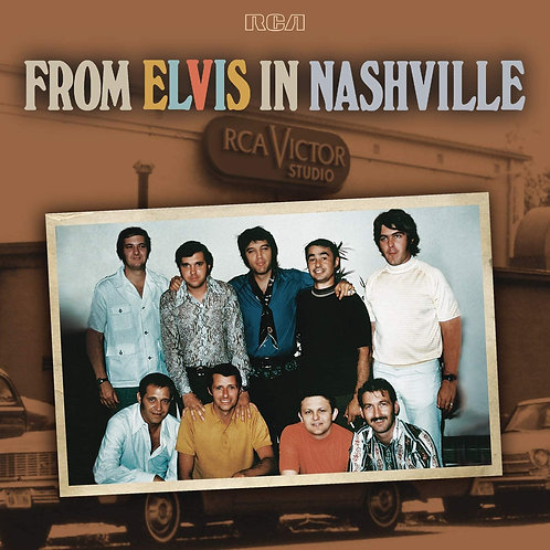 Elvis Presley - From Elvis In Nashville LP Released 20/11/20
