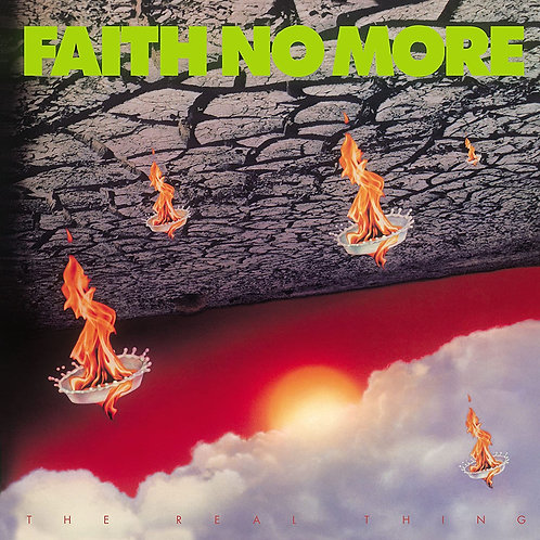 Faith No More  -The Real Thing LP Released 09/10/20