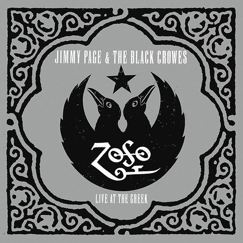 Jimmy Page & The Black Crowes - Live At The Greek LP Released 18/10/19