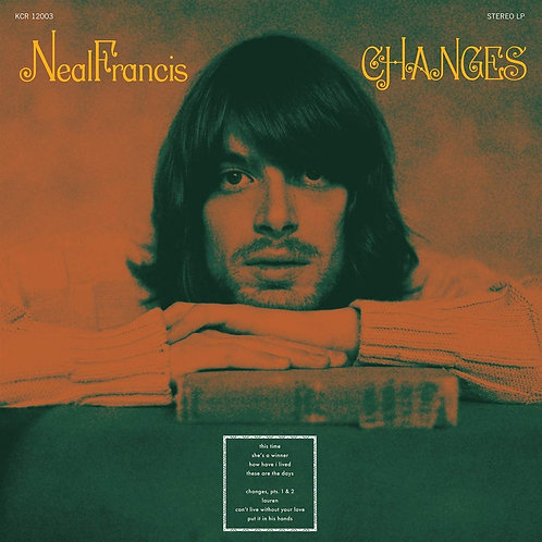 Neal Francis - Changes CD Released 20/09/19