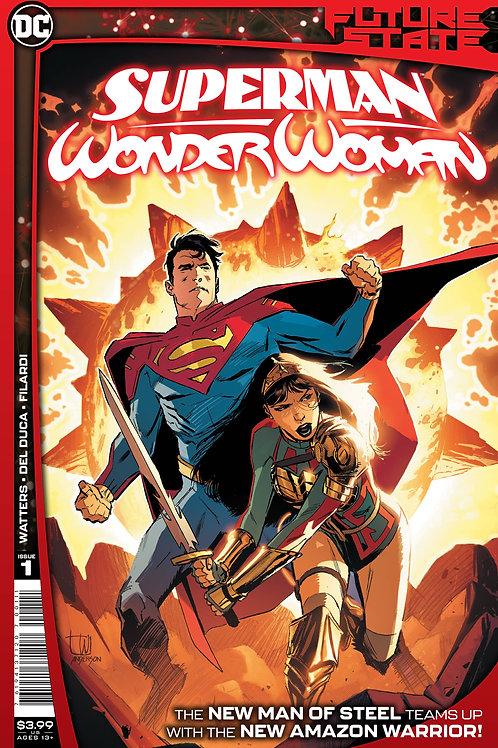 FUTURE STATE SUPERMAN/Wonder Woman#1