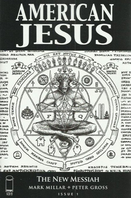 American Jesus #1 [Top Secret Cover C]