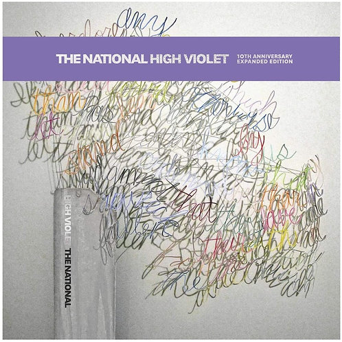 The National - High Violet 10th Anniversary Edition LP Released 19/06/20