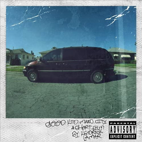 Kendrick Lamar - Good Kid, m.A.A.d City LP