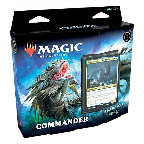 MAGIC: THE GATHERING COMMANDER LEGENDS COMMANDER DECK - REAP THE TIDES