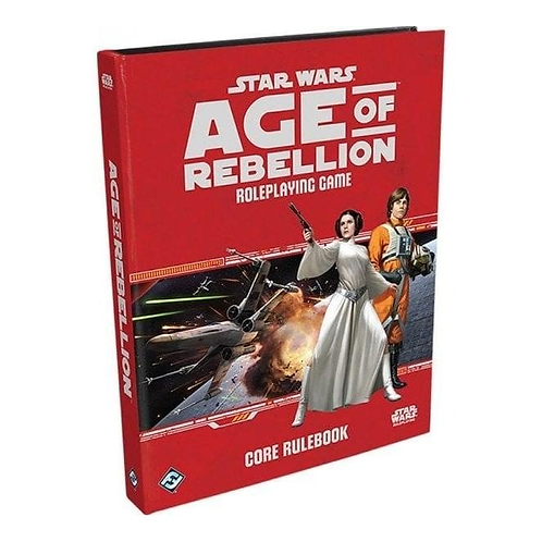 Star Wars age of rebellion role-playing book