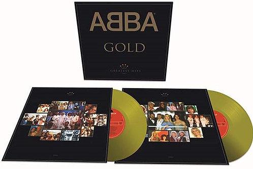 ABBA - Gold - Gold Vinyl LP Released 30/04/21