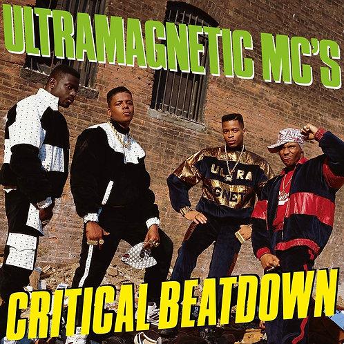 Ultramagnetic MC's - Critical Beatdown Yellow Vinyl LP Released 16/04/21