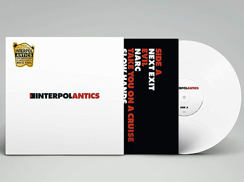Interpol - Antics LP Released 27/09/19