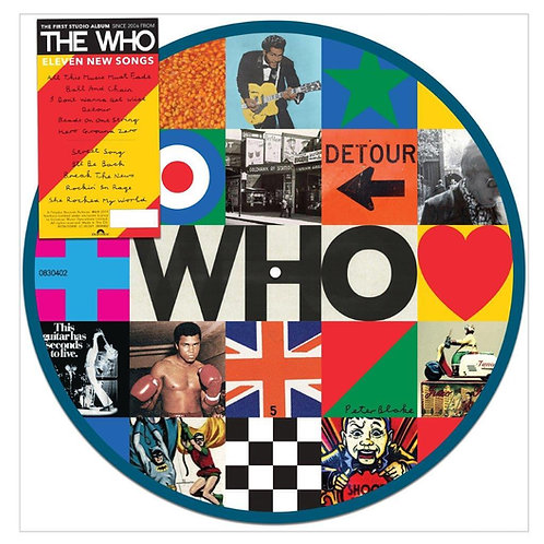 The Who - Who Picture Disc LP Released 06/12/19