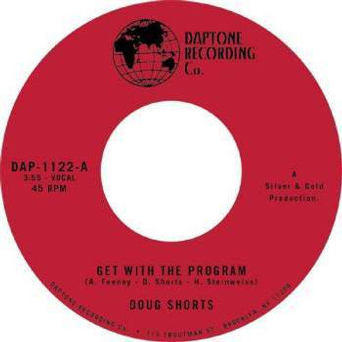 """Doug Shorts - Get With The Program 7"""" Single Released 23/08/19"""