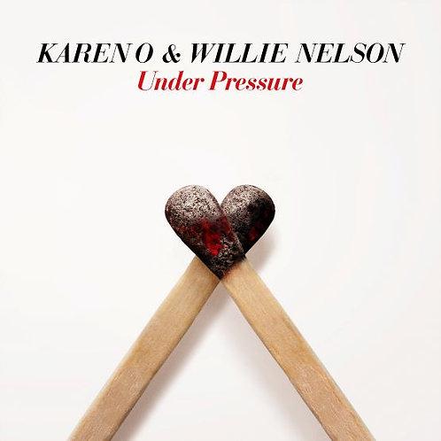 "Karen O And Willie Nelson - Under Pressure - 7"" Single"