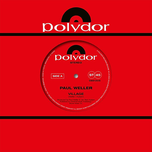 "Paul Weller - Village 7"" Released 22/05/20"