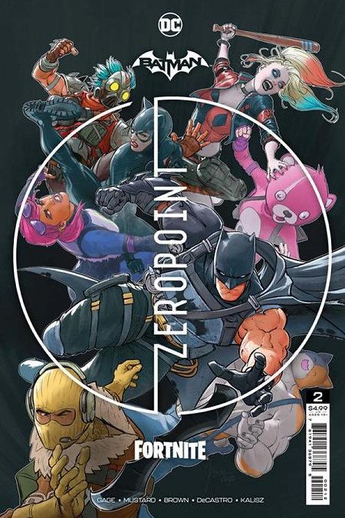 BATMAN/FORTNITE ZEROPOINT #2.SECOND PRINT
