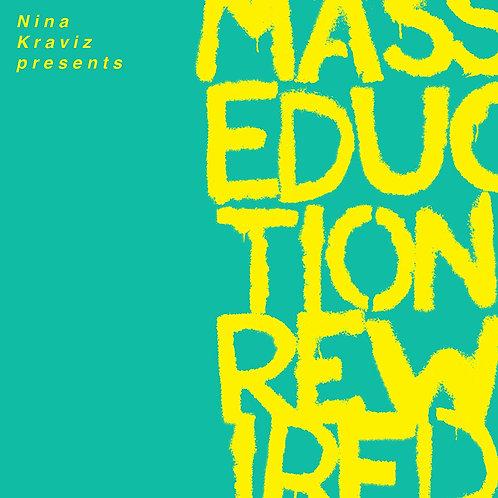 St. Vincent & Nina Kraviz - Masseduction Rewired LP Released 28/02/20